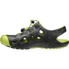 Keen Rio Kids, black/bright chartreuse